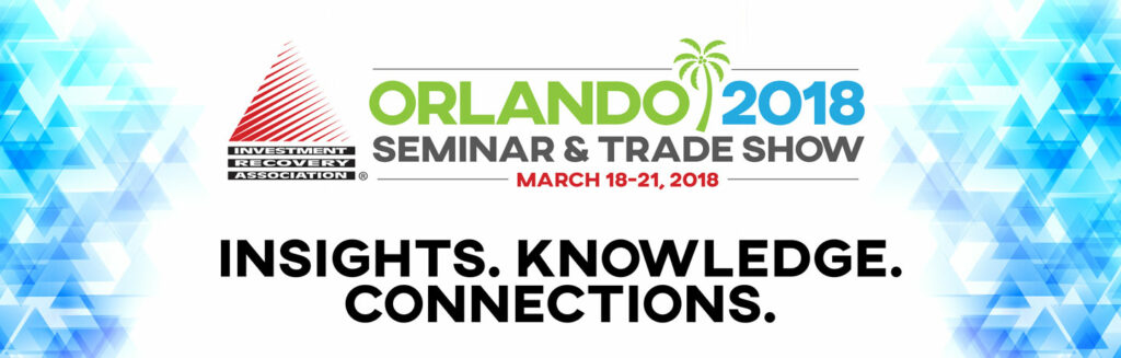 2018 Investment Recovery Seminar and Trade Show