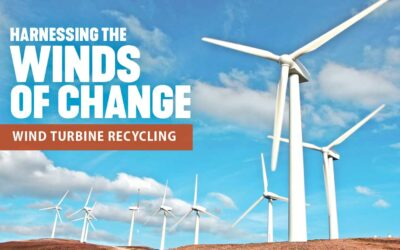 Harnessing the Winds of Change: Wind Turbine Recycling