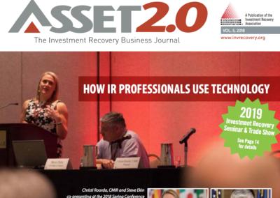 Asset 2.0 2018 Vol 5  – Using IR Tech