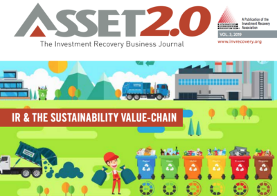 Asset 2.0 2019 Vol 3- IR and The Sustainability Value Chain