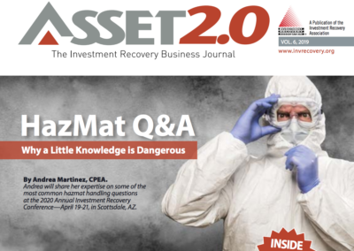 Asset 2.0 2019 Vol 6 – Hazmat Directory
