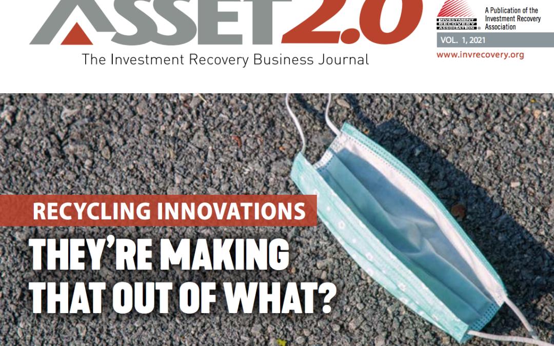 Asset 2.0 2021 Vol 1 – Recycling Innovations